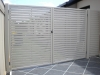 alluminium slatted gate lifestyle solutions