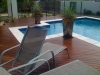 rectangular pool with decking surround lifestyle solutions